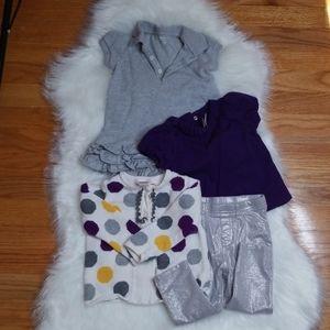 Janie and Jack/Ralph Lauren/Garanimals outfit lot